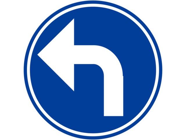 a gauche