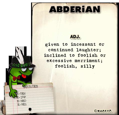 abderian laughter