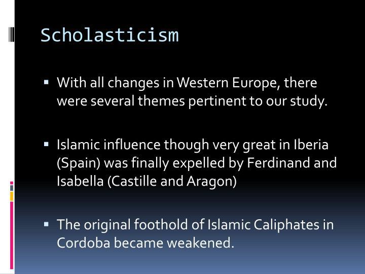 anti-scholasticism
