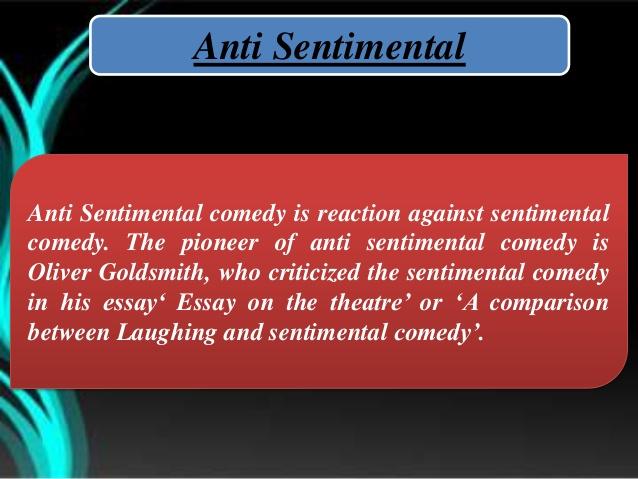 anti-sentimental
