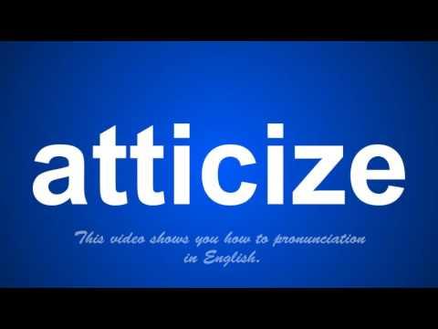 atticize