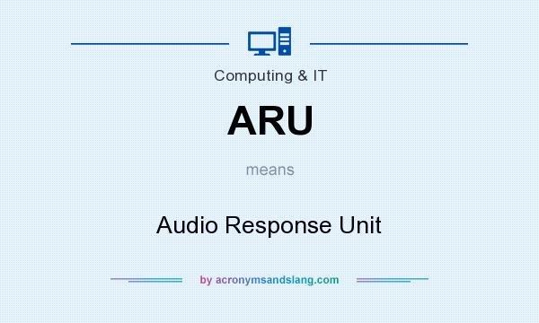audio response unit