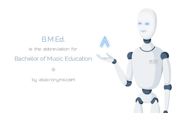 b.m.ed.