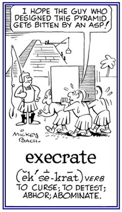 execrate