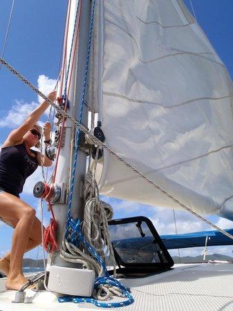 lifting sail