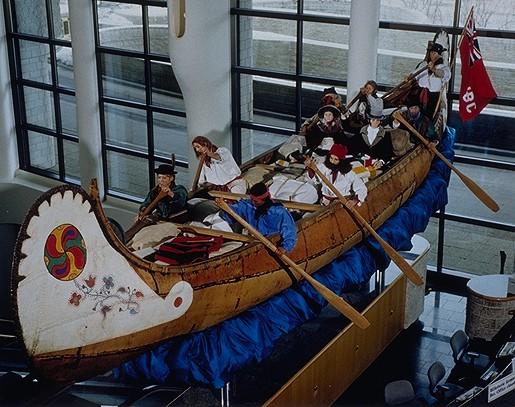 montreal canoe