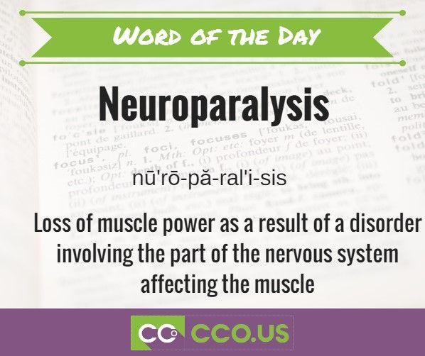 neuroparalysis