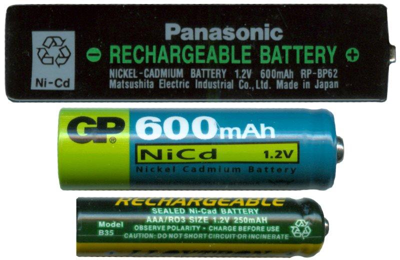 nickel-cadmium battery