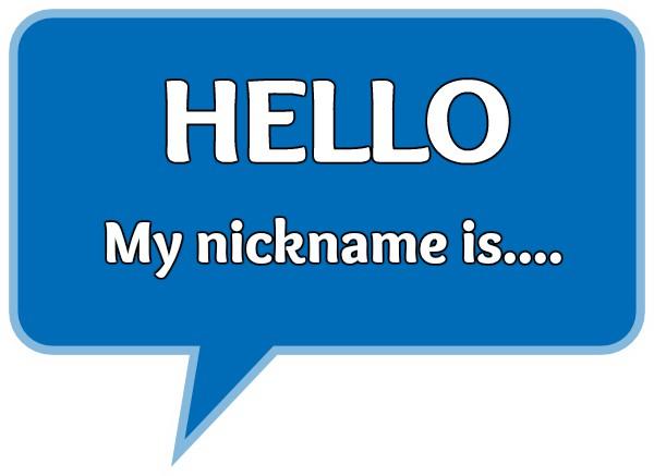 nickname  nickname