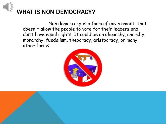 non-democracy