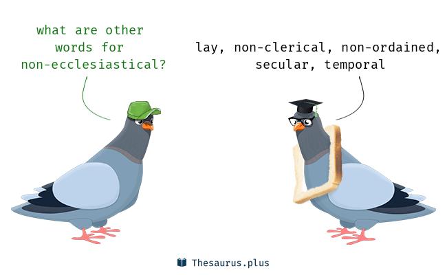 non-ecclesiastical