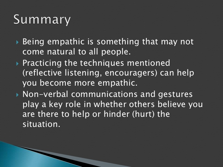 non-empathic