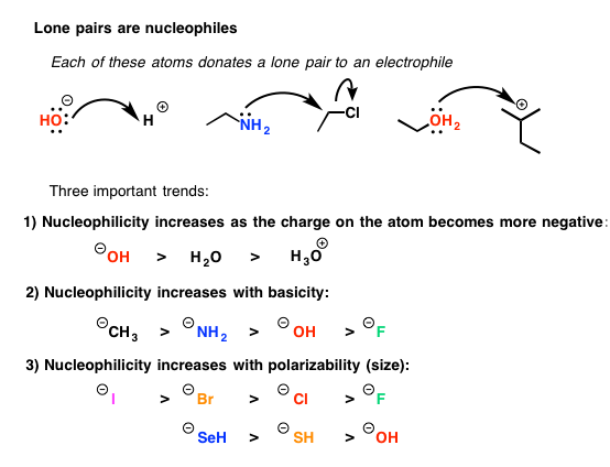 nucleophile