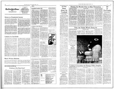 op-ed page