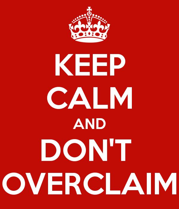 overclaim