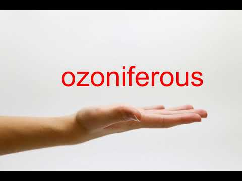ozoniferous