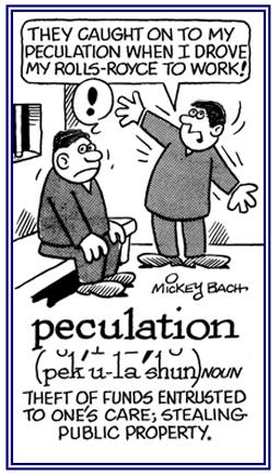 peculation