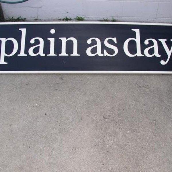 plain as day