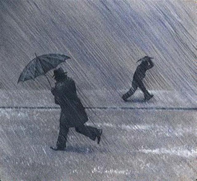 rainy day, a