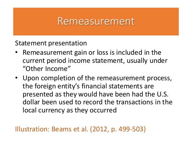 re-measurement