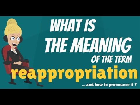 reappropriation