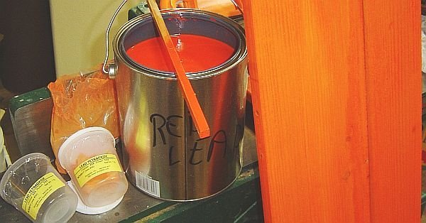 red-lead putty