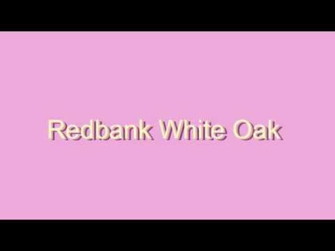 redbank whiteoak