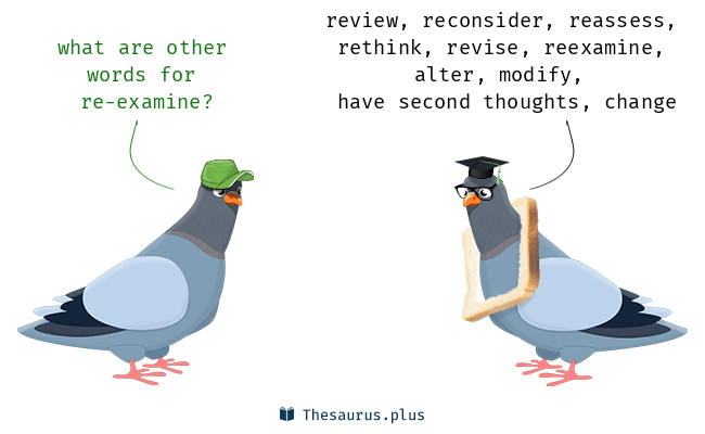 reexamine