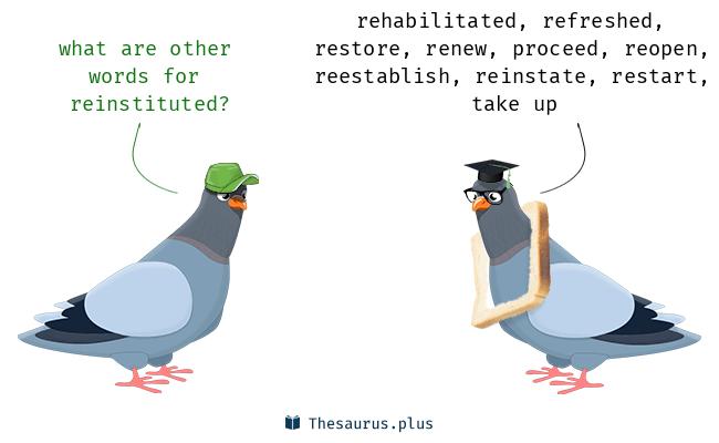 reinstituted