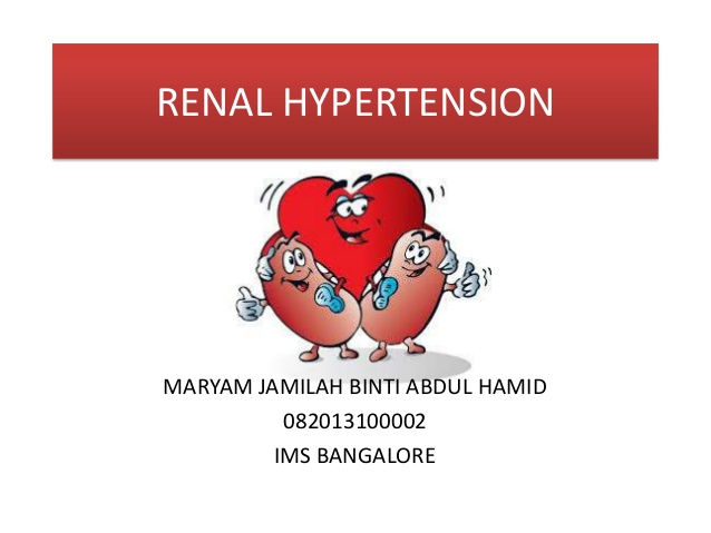 renal hypertension