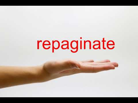 repaginate