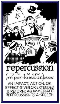 repercussive