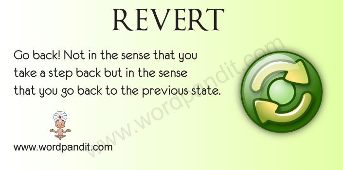 reverted