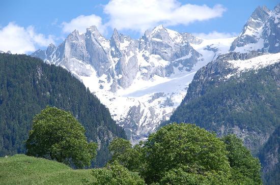 rhaetian alps