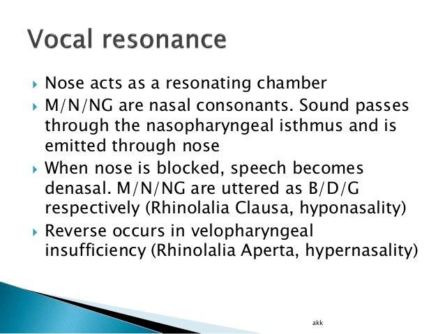 rhinolalia