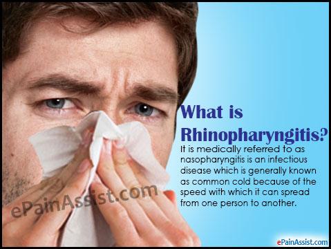 rhinopharyngitis