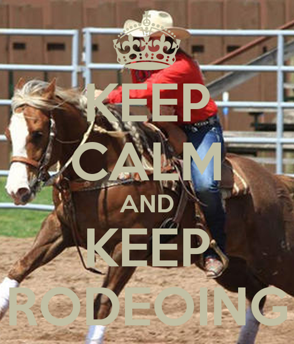 rodeoing