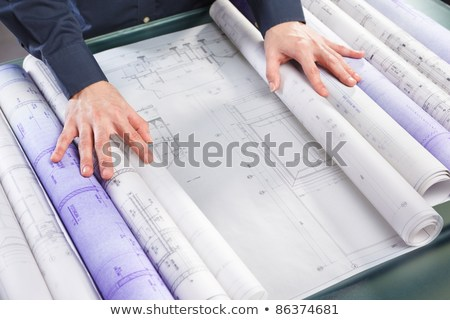 rolled paperwork