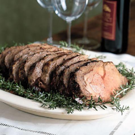 rolled roast
