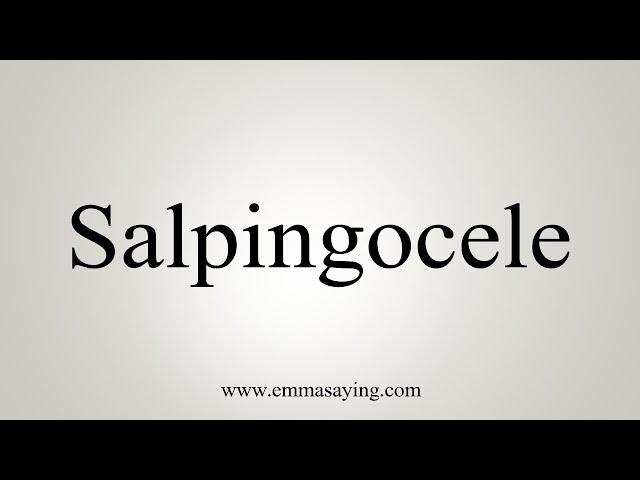 salpingocele