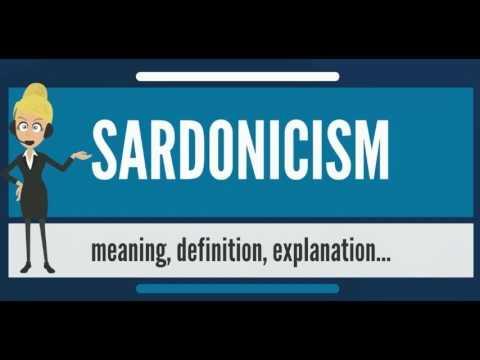 sardonicism