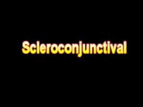 scleroconjunctival