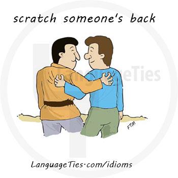 scratch someone's back