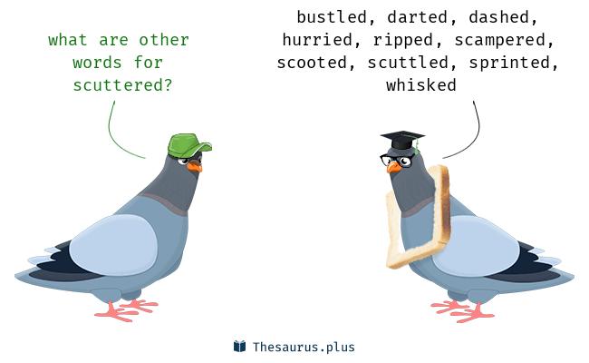scudded