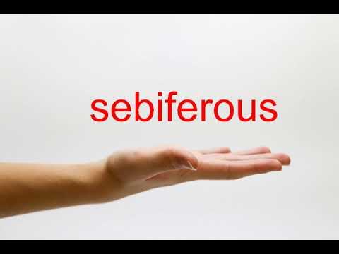 sebiferous