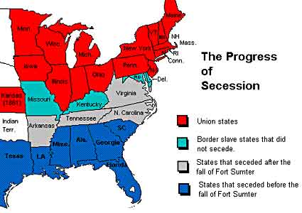 seceded