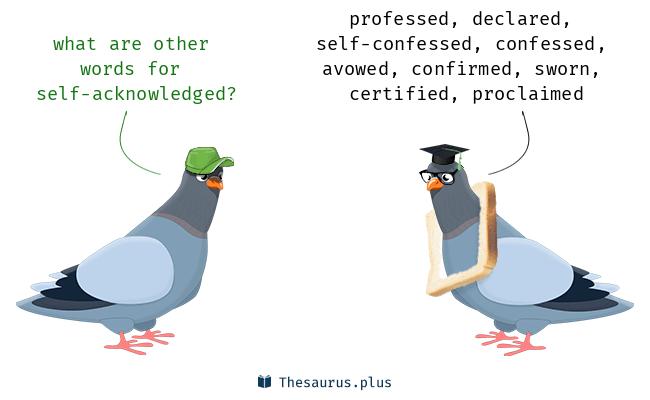 self-acknowledged