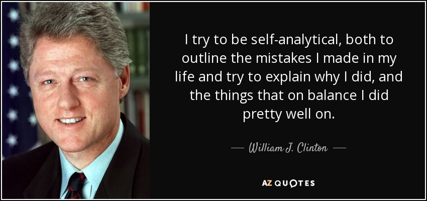 self-analytical