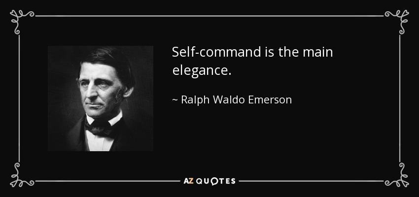 self-command