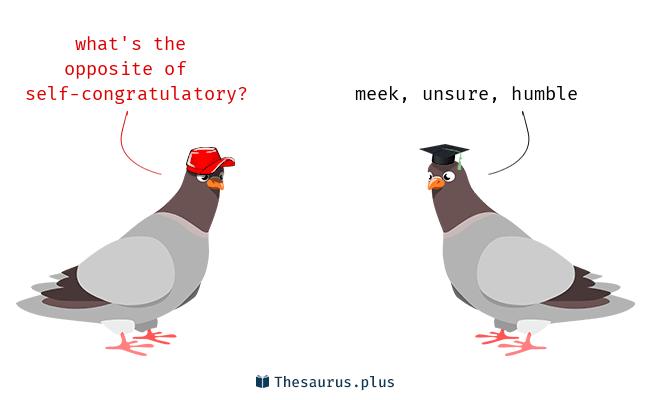 self-congratulatory